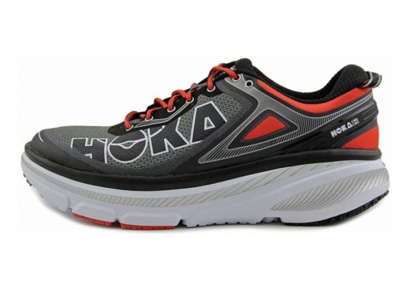 Hoka One One Bondi 4 Grey/Orangeflash
