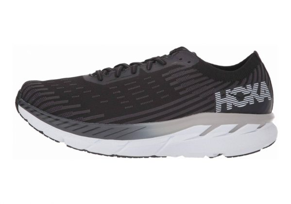 Hoka One One Clifton 5 Knit Black White