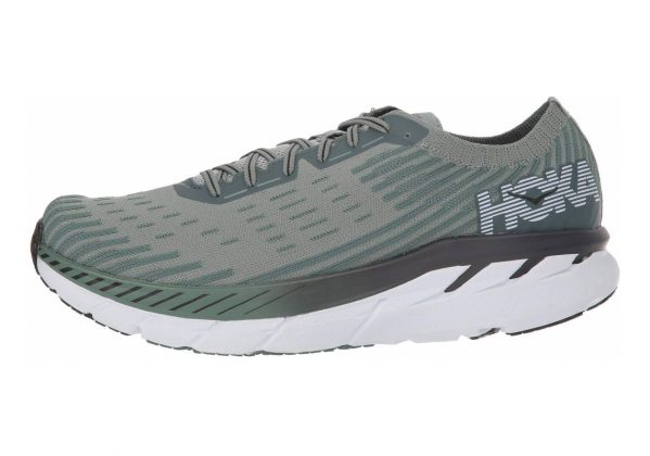 Hoka One One Clifton 5 Knit Grey