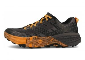 Hoka One One Speedgoat 2 Black Kumquat