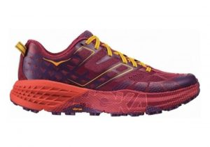 Hoka One One Speedgoat 2 Cherries Jubilee/Purple Passion