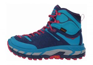 Hoka One One Tor Ultra Hi WP Blue Jewel/Medieval Blue
