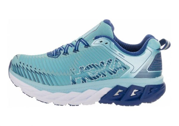Hoka One One Arahi Blue Topaz/Electric Blue