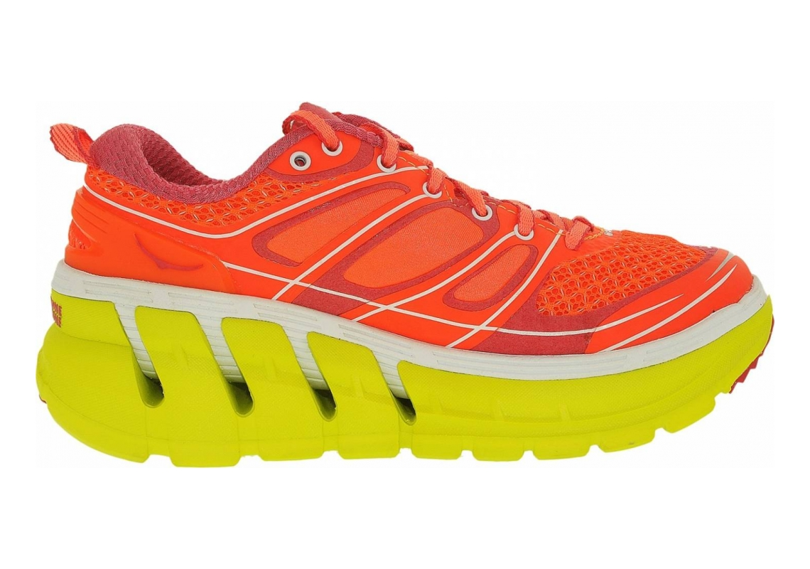 Hoka One One Conquest 2 Neon Coral/Citrus