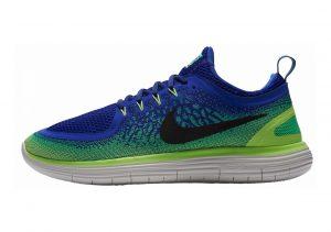 Nike Free RN Distance 2 Azul (Paramount Blau/Schwarz-elektro Grün)