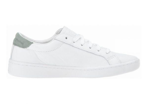 Keds Ace Leather Weiß (White/Sage)