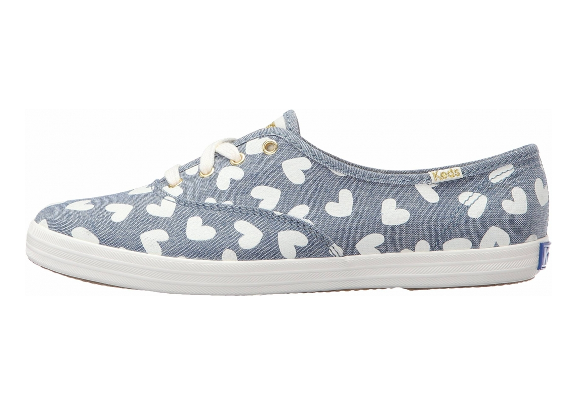 Keds Champion Blue With Harts