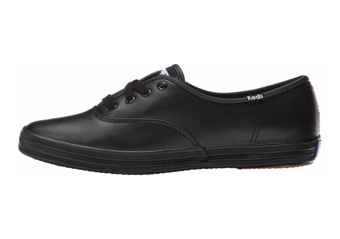 Keds Champion Leather CVO Black