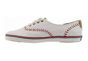 Keds Champion Pennant Leather Off White