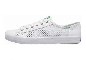 Keds Kickstart Perf Leather Blanco (White 10)