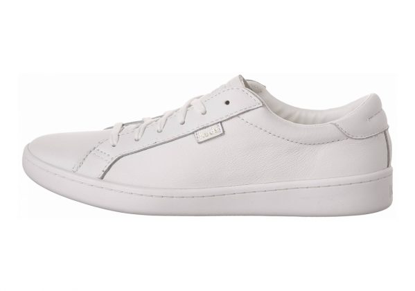 Keds Ace Leather Weiß (White/Navy)