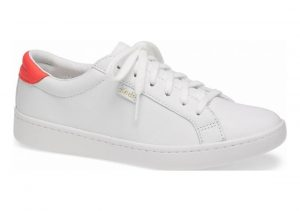 Keds Ace Leather White Coral