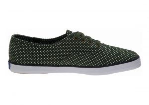 Keds Champion Micro Dot Forest Green
