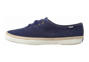 Keds Champion Suede Peacoat Navy