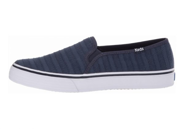 Keds Double Decker Eyelet Stripe Navy