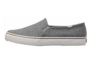 Keds Double Decker Perf Jersey Charcoal