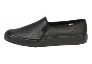 Keds Double Decker Leather Black