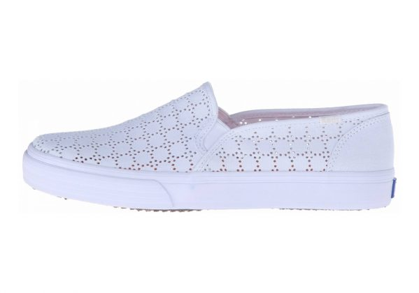 Keds Double Decker Perf White