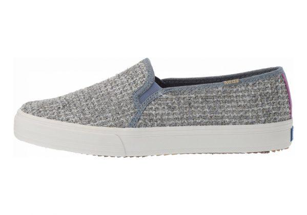 Keds Double Decker Sequin Knit Grey