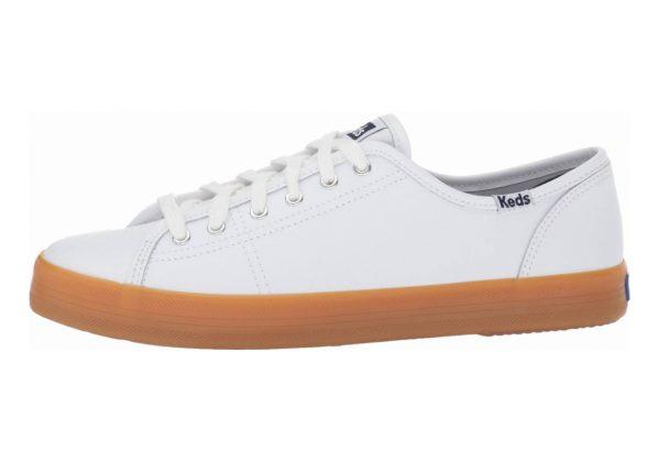 Keds Kickstart Leather White/Gum