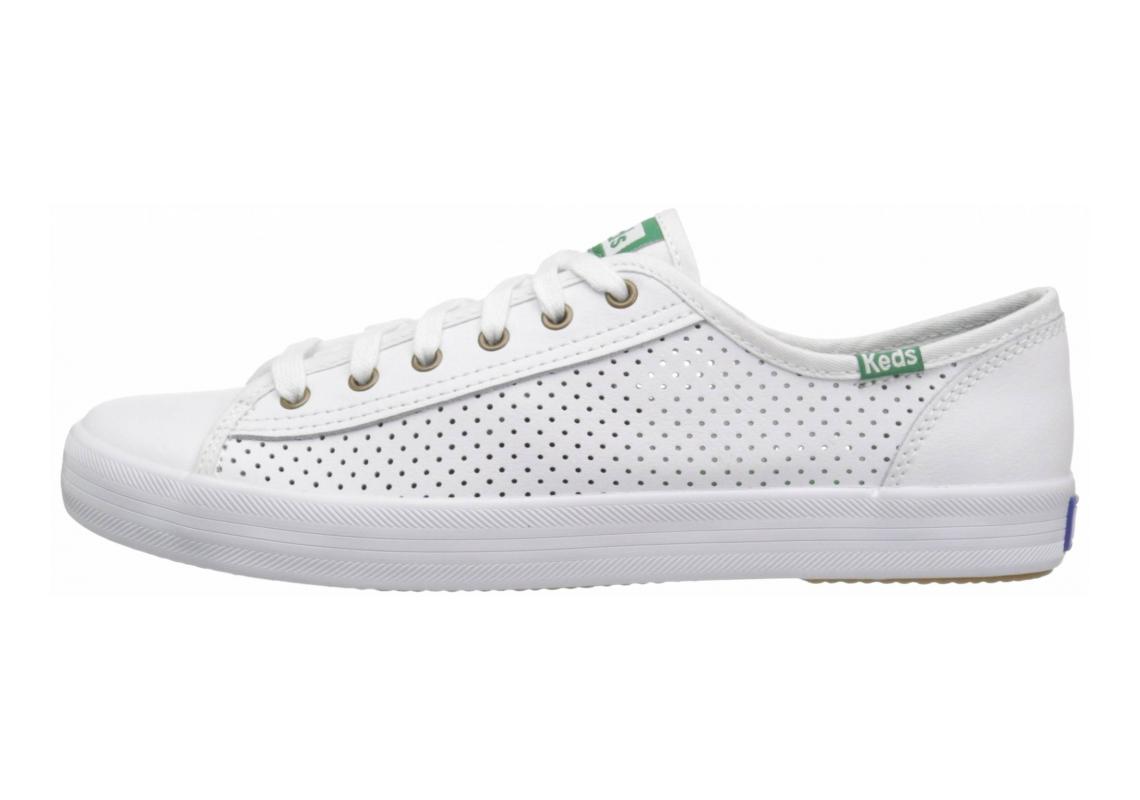 Keds Kickstart Leather White
