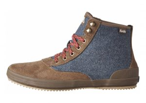 Keds Scout Suede Wool WX Brown/ Navy