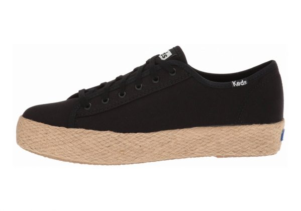 Keds Triple Kick Jute Black