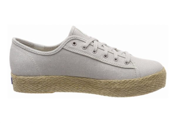 Keds Triple Kick Jute Grey
