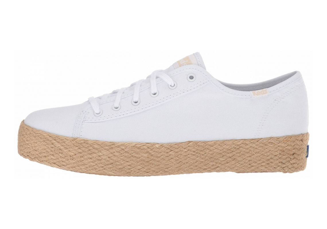 Keds Triple Kick Jute White