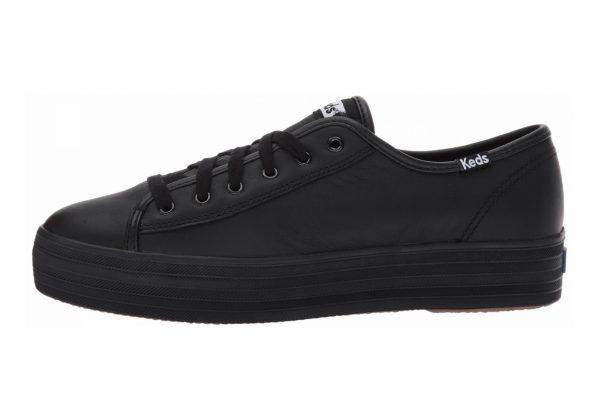 Keds Triple Kick Leather Black