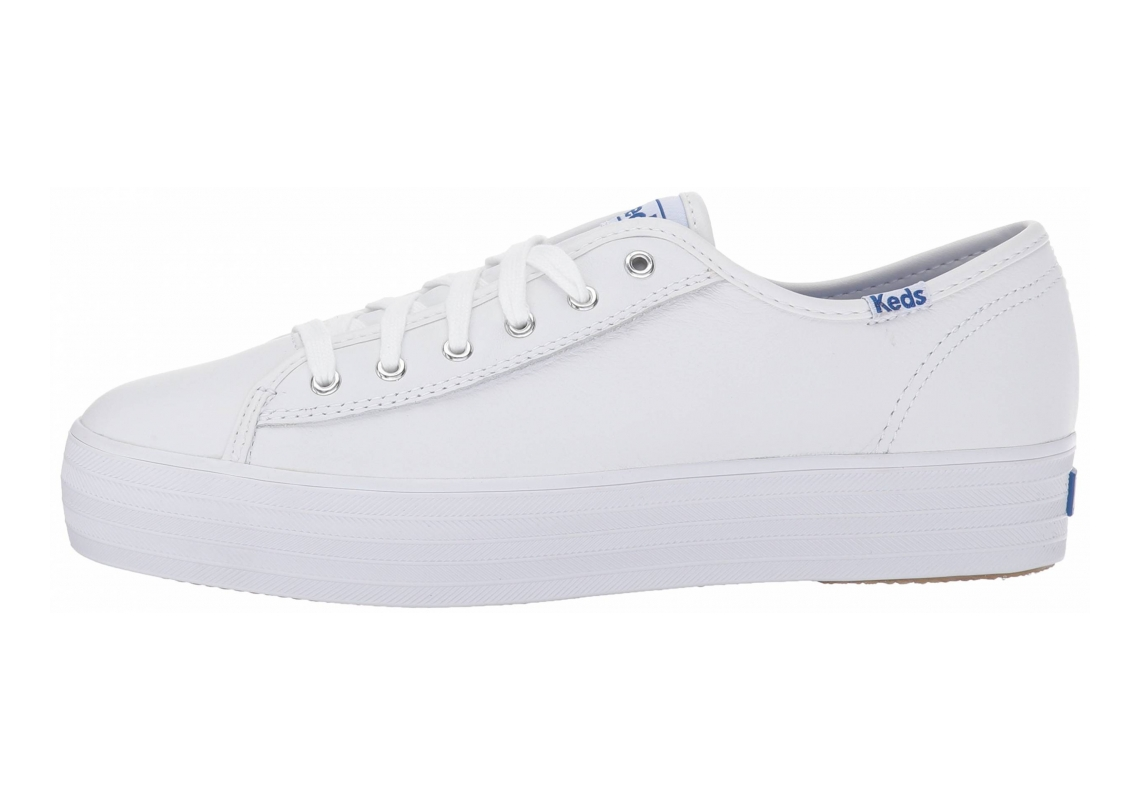 Keds Triple Kick Leather White