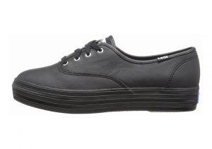 Keds Triple Leather Black/Black