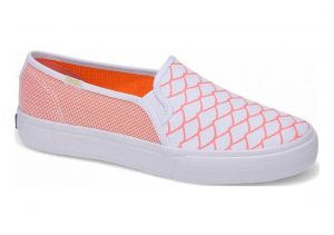 Keds x Alaina Marie Double Decker Mesh Waves  Coral