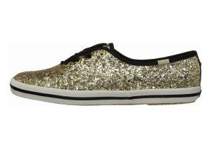Keds x Kate Spade New York Champion Glitter Gold