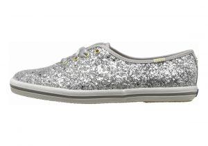 Keds x Kate Spade New York Champion Glitter Silver