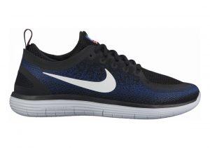 Nike Free RN Distance 2 Black / White / Deep Royal Blue / Hot Punch