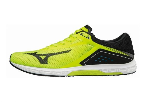 Mizuno Wave Sonic Safety Yellow / Black / White