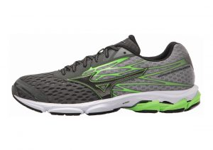 Mizuno Wave Catalyst 2 Charcoal/Green Flash