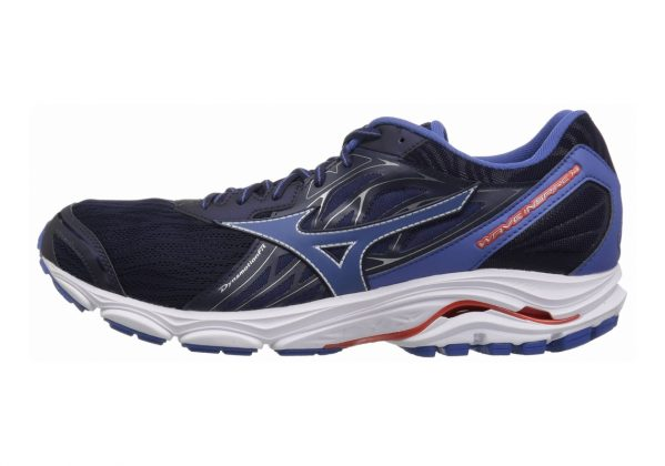 Mizuno Wave Inspire 14 Evening Blue/Cherry Tomato