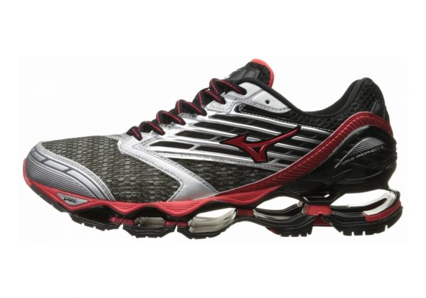 Mizuno Wave Prophecy 5 Gunmetal/High Risk Red