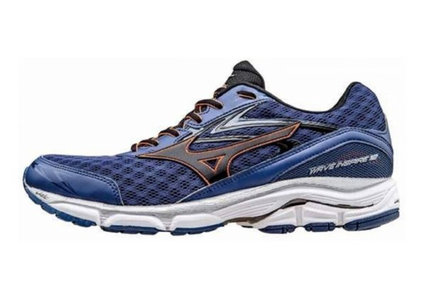 Mizuno Wave Inspire 12 (11) Twilight Blue/Black/Clown Fish
