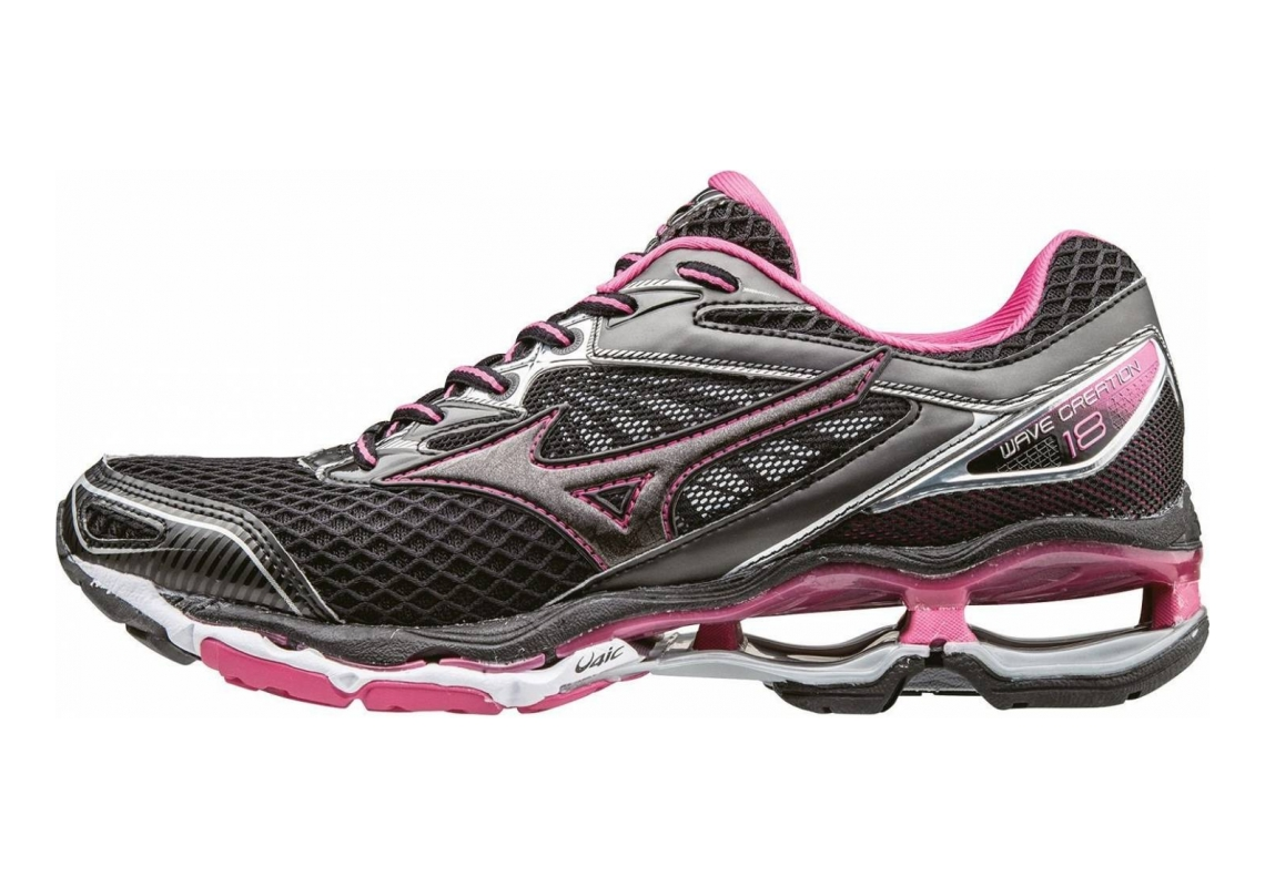 Mizuno Wave Creation 18 Black/Black/FuchsiaPurpl