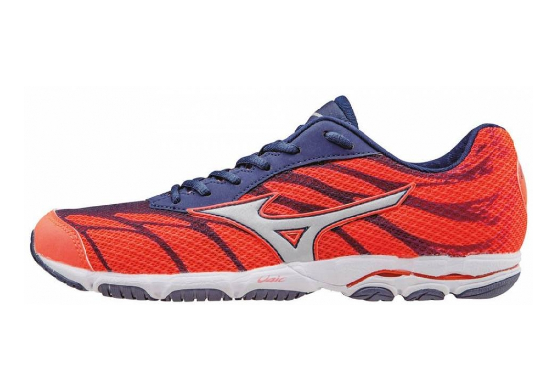 Mizuno Wave Hitogami 3 Fiery Coral/Blue Depths