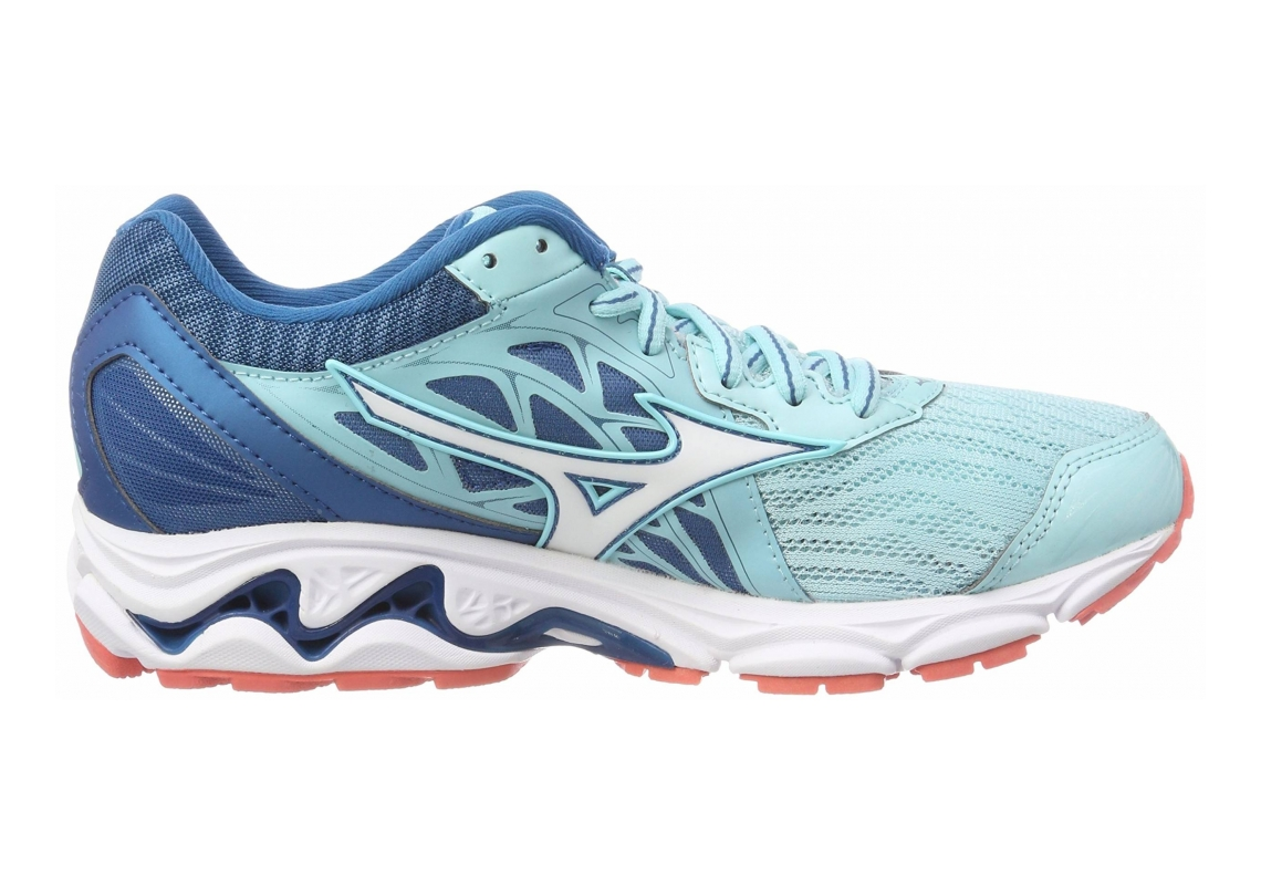 Mizuno Wave Inspire 14 Aqua Splash / White / Blue Shappire