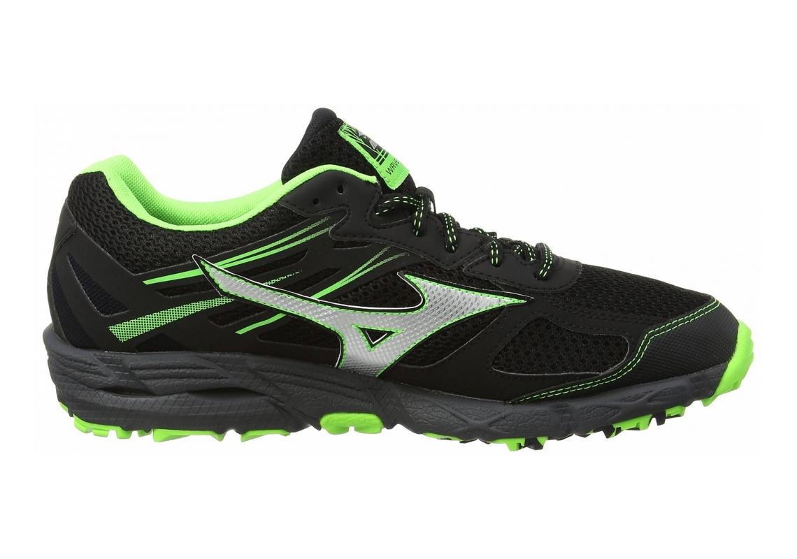 Mizuno Wave Kien 3 GTX Black (Black/Silver/Green Gecko)