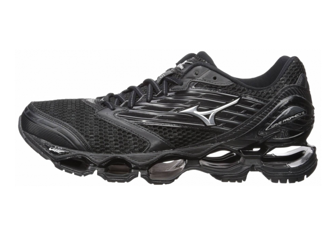 Mizuno Wave Prophecy 5 Black/Silver/Dark Shadow