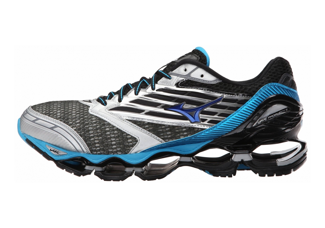 Mizuno Wave Prophecy 5 Gunmetal/Atomic Blue