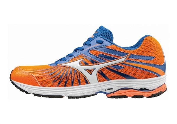 Mizuno Wave Sayonara 4 Orange (Clownfish/White/Nautical Blue)