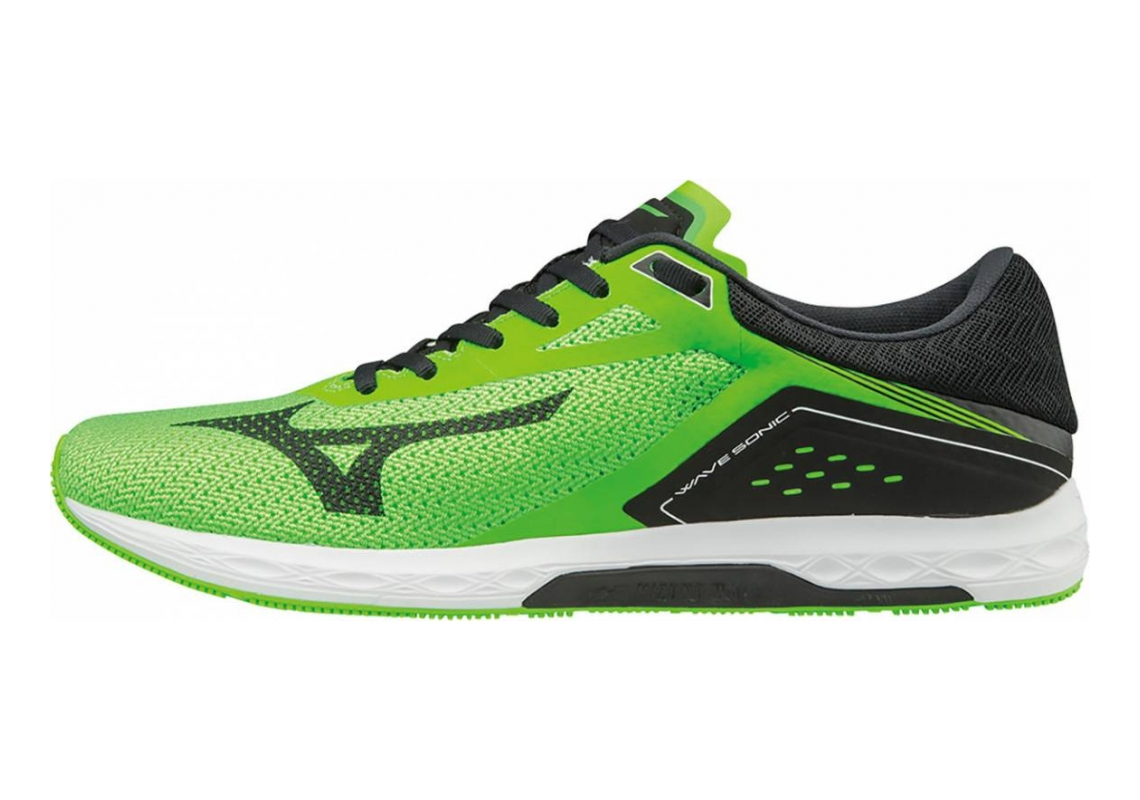 Mizuno Wave Sonic Verde (Neon Green/Black/White)