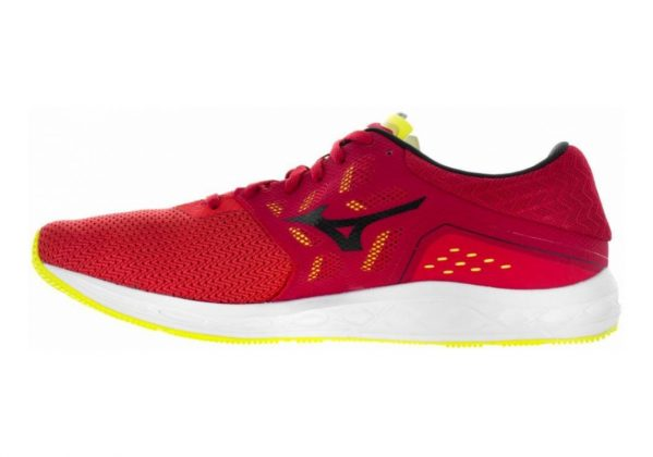 Mizuno Wave Sonic Grenadine/Black/Safety Yellow